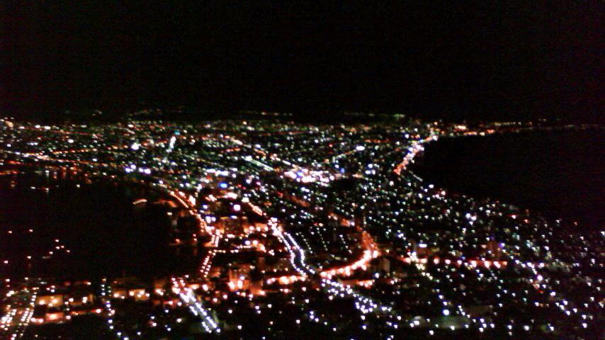 夜桜&夜景