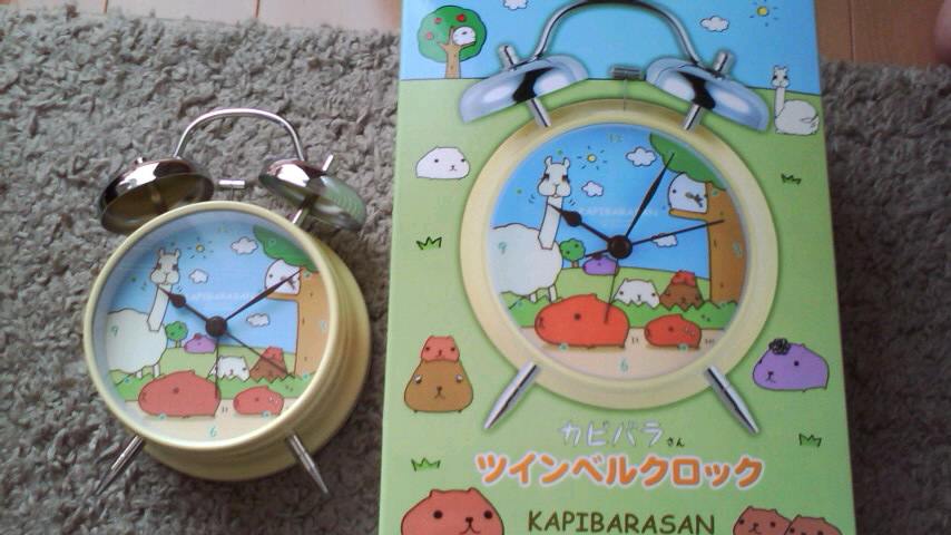 カピ時計♪